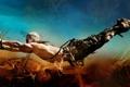 Картинка авария, полет, колесо, руль, Josh Helman, Mad Max: Fury Road, Безумный Макс: Дорога ярости