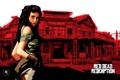 Картинка девушка, игры, saloon, Rockstar, Red Dead Redemption, дикий запад