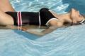 Картинка swimsuit, девушка, вода, купальник, girl, волосы, : бассейн
