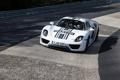 Картинка гоночный трек, 918, Spyder, белый, фон, Спайдер, Prototype