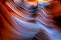 Картинка свет, природа, скалы, текстура, сша, каньон антилопы