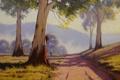 Картинка рисунок, арт, artsaus, track through the gums