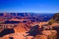 Картинка небо, горы, природа, каньон, Юта, США, utah