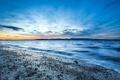 Картинка закат, океан, побережье