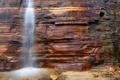 Картинка брызги, скала, ручей, водопад