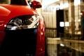 Картинка морда, красная, Audi TT