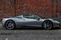 Картинка Ferrari, 458, Grey, London, Supercars, Silverstone, Spider