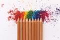 Картинка краски, карандаш, цветные карандаши