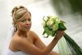 Картинка праздник, букет, платье, невеста, свадьба