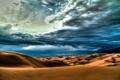 Картинка небо, облака, пустыня