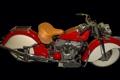 Картинка ретро, байк, мотоцикл, бахрома