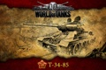 Картинка СССР, WoT, Т-34-85, танки, World of Tanks
