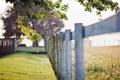 Картинка лето, трава, макро, забор