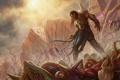 Картинка dead, enemies, Eldrazi, guerrero, armature, edificicion, poder