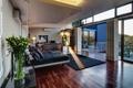 Картинка диван, кровать, подушки, телевизор, спальня, interior, luxury