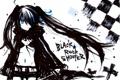 Картинка девушка, аниме, арт, black rock shooter, стрелок с черной скалы, мато курои