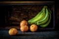 Картинка бананы, фрукты, мандарины