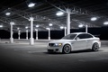 Картинка белый, лампы, bmw, бмв, парковка, white, wheels