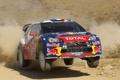 Картинка Пыль, Спорт, Ситроен, Citroen, DS3, Rally, Ралли