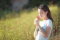 Картинка цветок, настроение, девочка