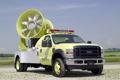Картинка жёлтый, ford, форд, пожарная, мигалки, пожарная машина, спасательная