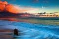 Картинка пейзаж, волна, море
