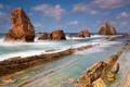Картинка море, камни, скалы, морской пейзаж
