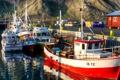 Картинка лодка, причал, Норвегия, катер, фьорд