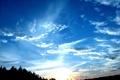Картинка осень, небо, закат