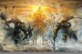Картинка diablo 3, monk, barbarian, Diablo III: Reaper of Souls, reaper of souls
