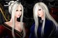 Картинка девушки, белые волосы, art, lilyzou