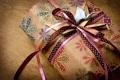 Картинка бумага, ленты, праздник, коробка, подарок, оригами, банты