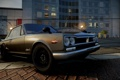 Картинка город, фары, классика, Need for Speed The Run, nissan skyline GT-R