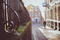 Картинка улица, мох, ограда