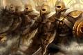Картинка игра, доспехи, guild wars, воины
