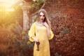 Картинка Dannielle Jenkins, The keys, Inese Stoner, ключи, девушка, в жёлтом, макияж