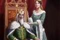 Картинка корона, арт, трон, королева, король, Harbinger Chronicles