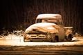 Картинка Ford, завален, снегом, Ф-100