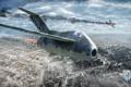 Картинка MMO, разрушения, WoWp, World of Warplanes, Persha Studia, авиа, Мир самолётов