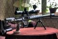 Картинка оружие, стол, sniper rifle