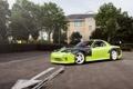 Картинка green, тюнинг, Mazda, зеленая, мазда, RX7, Drift Car