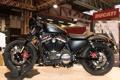 Картинка дизайн, мотоцикл, выставка, Harley Davidson