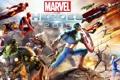Картинка Ghost Rider, Hulk, Wolverine, Iron Man, Captain America, MMORPG, Thor