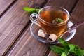 Картинка чай, сахар, мята