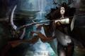 Картинка Ведьма, Коса, Sura Online