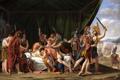 Картинка картина, жанровая, Хосе Мадрасо, Смерть Вириата