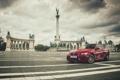 Картинка red, tuning, BMW M3, Budapesta