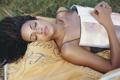 Картинка девушка, спит, журнал