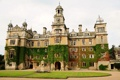 Картинка город, дом, фото, газон, Англия, Thoresby