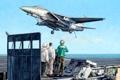 Картинка рисунок, арт, палуба, самолёт, взлёт, истребитель-бомбардировщик, американский авианосец